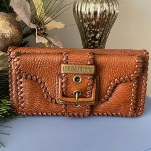 Isabella Fiore Brown Leather Wallet